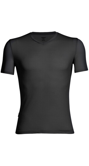 Icebreaker Anatomica SS Shirt Men black/monsoon
